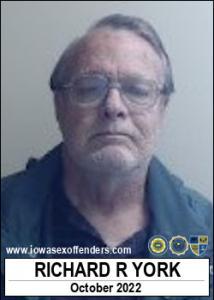 Richard Rex York a registered Sex Offender of Iowa