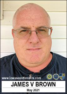 James Vernon Brown a registered Sex Offender of Iowa