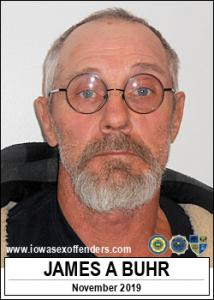 James Allen Buhr a registered Sex Offender of Iowa