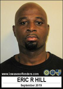 Eric Romun Hill a registered Sex Offender of Iowa