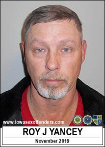 Roy Jack Yancey a registered Sex Offender of Iowa