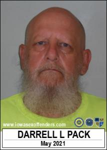 Darrell Lynn Pack a registered Sex Offender of Iowa