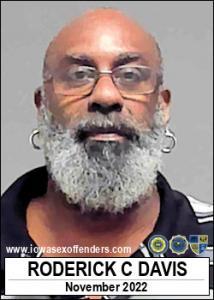Roderick Carvel Davis a registered Sex Offender of Iowa