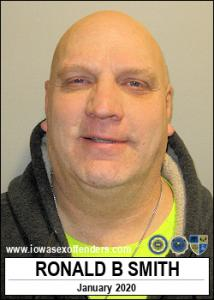 Ronald Bradley Smith a registered Sex Offender of Iowa