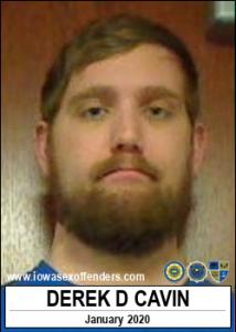 Derek Daniel Cavin a registered Sex Offender of Iowa