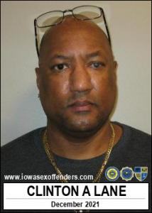 Clinton Akeem Lane a registered Sex Offender of Iowa