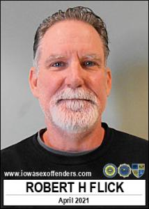 Robert Howard Flick a registered Sex Offender of Iowa