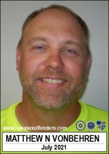 Matthew Neil Vonbehren a registered Sex Offender of Iowa