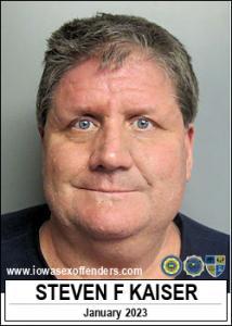 Steven Francis Kaiser a registered Sex Offender of Iowa