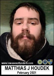 Matthias Jacob Houdek a registered Sex Offender of Iowa