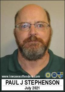 Paul James Stephenson a registered Sex Offender of Iowa