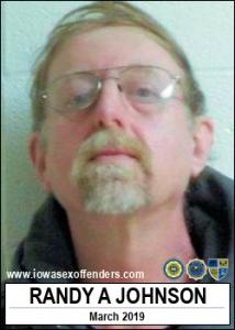 Randy August Johnson a registered Sex Offender of Iowa