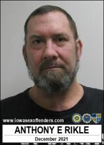 Anthony Elwood Rikle a registered Sex Offender of Iowa