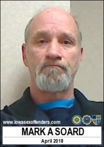 Mark Anthony Soard a registered Sex Offender of Iowa