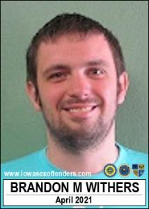 Brandon Michael Withers a registered Sex Offender of Iowa