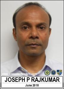 Joseph Prem Rajkumar a registered Sex Offender of Iowa