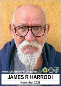 James Raymond Harrod I a registered Sex Offender of Iowa