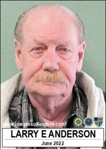 Larry Eugene Anderson a registered Sex Offender of Iowa