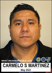 Carmelo Santos Martinez a registered Sex Offender of Iowa