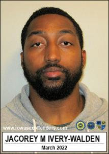Jacorey Montrez Ivery-walden a registered Sex Offender of Iowa