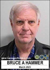 Bruce Alan Hammer a registered Sex Offender of Iowa