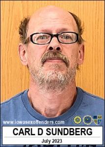 Carl Douglas Sundberg a registered Sex Offender of Iowa