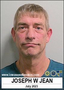 Joseph William Jean a registered Sex Offender of Iowa