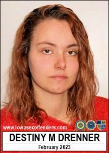 Destiny Marie Drenner a registered Sex Offender of Iowa