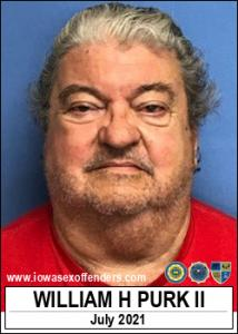 William Harold Purk II a registered Sex Offender of Iowa
