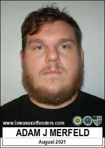 Adam Joseph Merfeld a registered Sex Offender of Iowa