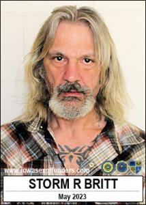 Storm Richard Britt a registered Sex Offender of Iowa