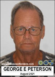 George Edwin Peterson a registered Sex Offender of Iowa