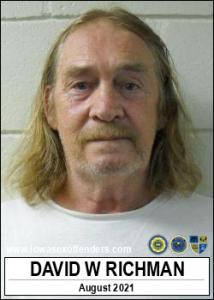 David Wiley Richman a registered Sex Offender of Iowa