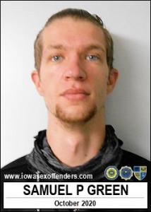 Samuel Paul Green a registered Sex Offender of Iowa