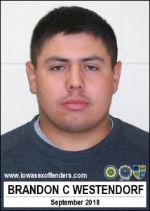 Brandon Charles Westendorf a registered Sex Offender of Iowa