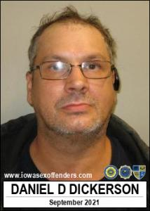 Daniel Dean Dickerson a registered Sex Offender of Iowa
