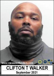Clifton Trevail Walker a registered Sex Offender of Iowa