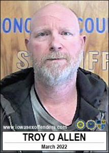 Troy Onlee Allen a registered Sex Offender of Iowa