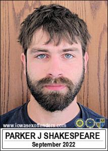 Parker Joe Shakespeare a registered Sex Offender of Iowa