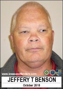 Jeffery Todd Benson a registered Sex Offender of Iowa