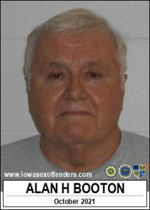 Alan Homer Booton a registered Sex Offender of Iowa