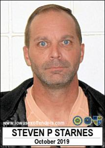 Steven Paul Starnes a registered Sex Offender of Iowa