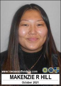 Makenzie Rae Ann Hill a registered Sex Offender of Iowa