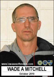Wade Adam Mitchell a registered Sex Offender of Iowa