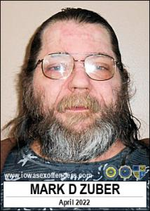 Mark David Zuber a registered Sex Offender of Iowa
