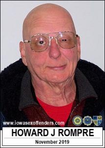 Howard John Rompre a registered Sex Offender of Iowa