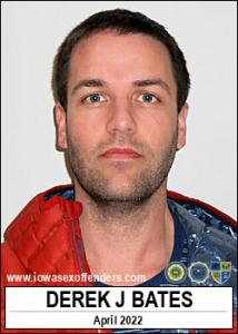Derek John Bates a registered Sex Offender of Iowa
