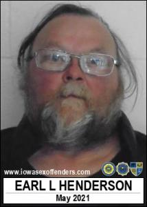 Earl Leroy Henderson a registered Sex Offender of Iowa