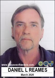 Daniel L Reames a registered Sex Offender of Iowa