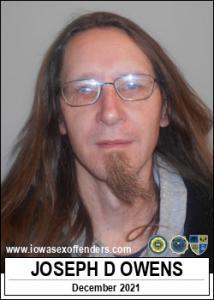 Joseph Dewitt Owens a registered Sex Offender of Iowa